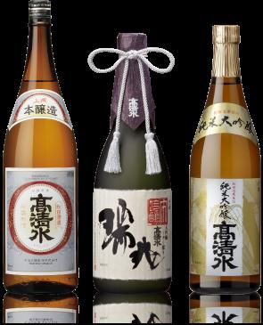 厳選された秋田の米と水と技がおりなす丹精込めたお酒
