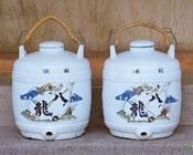 「八龍」の吟醸酒用甕